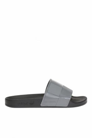 Embossed sliders od ADIDAS by Raf Simons