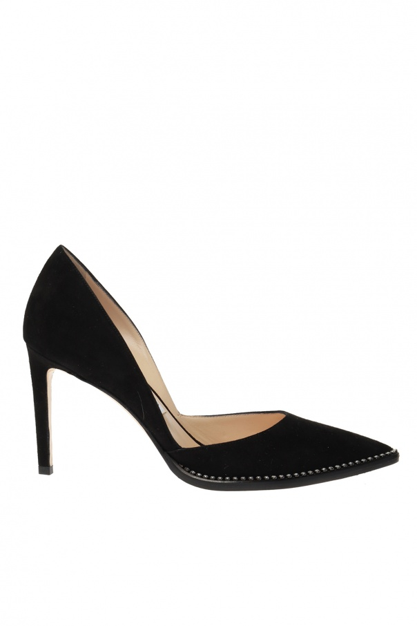 Jimmy Choo 'Babette' suede stiletto pumps