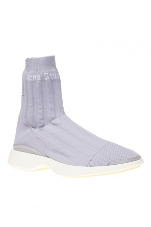 Sneakers with sock od Acne