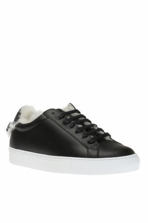 Sports shoes with a fur finish od Givenchy