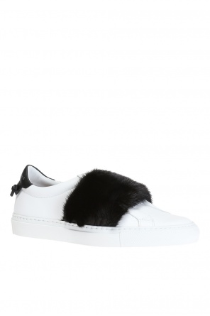 Mink fur sneakers od Givenchy