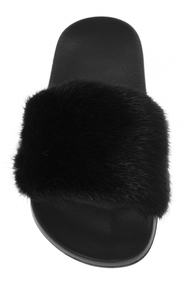 Mink fur slippers Givenchy - Vitkac shop online 4a50a7cb6