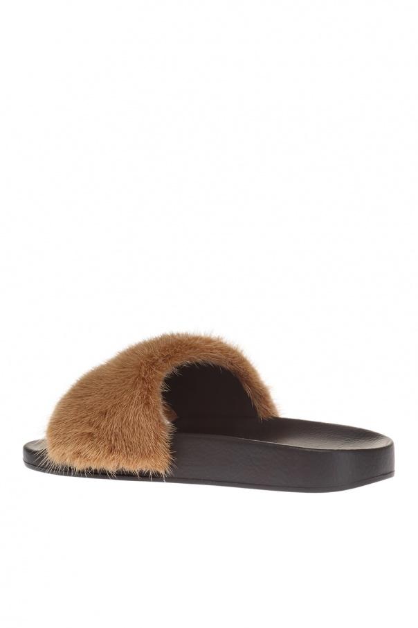 015c1ca23e61c2 Mink fur slippers Givenchy - Vitkac shop online