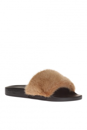 Mink fur slippers od Givenchy