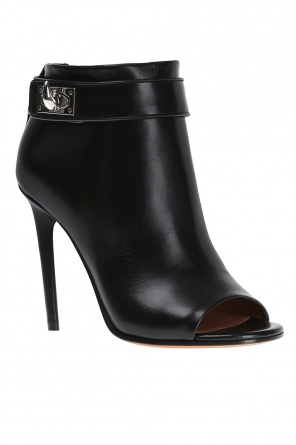Leather heel boots od Givenchy