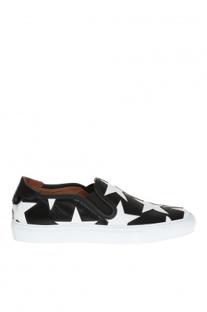 Slip-on sneakers wit stars od Givenchy