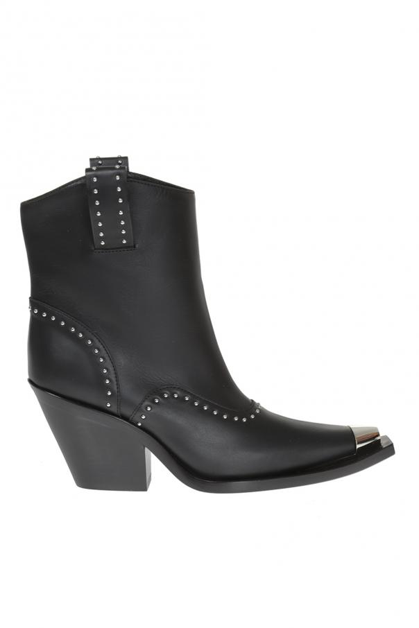 4fd79dfe1fd Studded heeled ankle boots Givenchy - Vitkac shop online