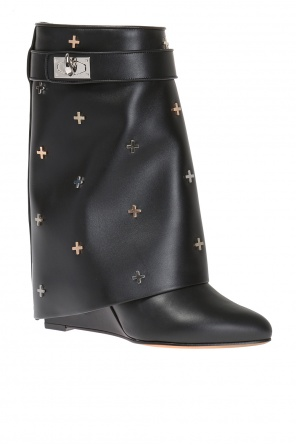 Folded overlay boots od Givenchy