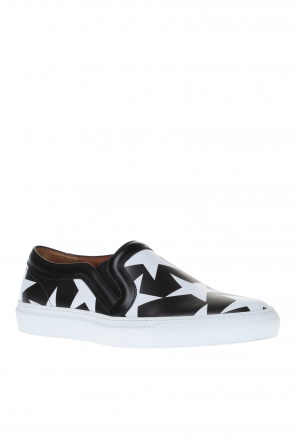 Leather slip-on sneakers od Givenchy