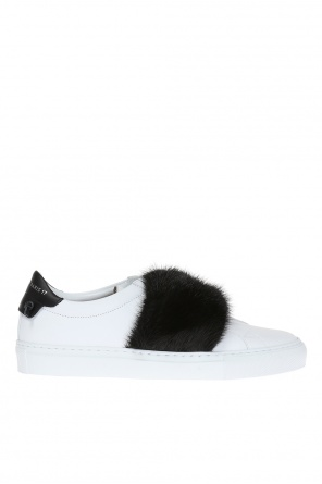 Fur sneakers od Givenchy