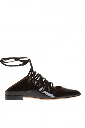 Leather sliders od Givenchy
