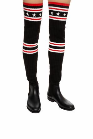 Rain boots with long sock od Givenchy