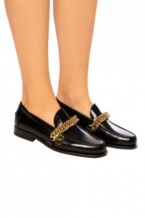 Branded leather loafers od Givenchy
