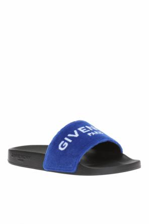 Slides with velvet trimming od Givenchy