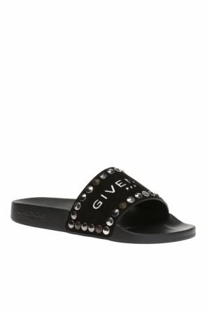 Logo-embossed slides od Givenchy