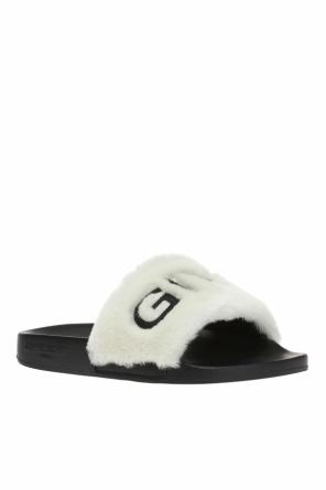 Slippers with a fur finish od Givenchy
