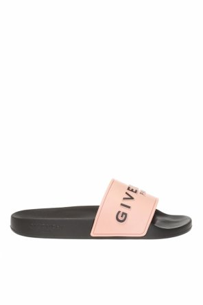 Slides with tactile logo od Givenchy