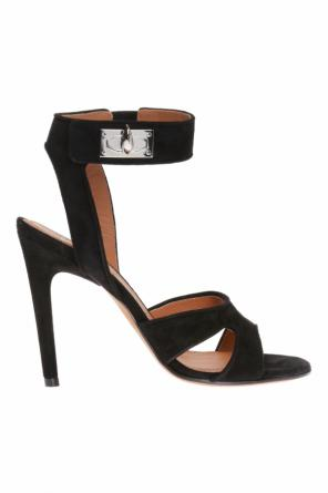 Shark tooth stiletto sandals od Givenchy