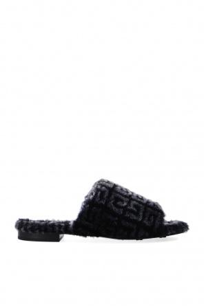 4g毛皮穆勒鞋 od Givenchy