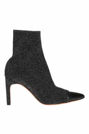 Heeled ankle boots with sock od Givenchy