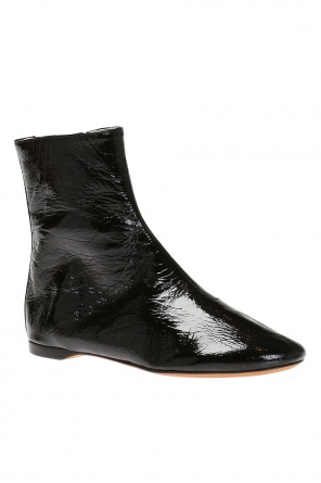Lacquered boots od Givenchy