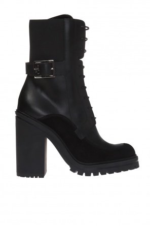 'aviator' heeled ankle boots od Givenchy