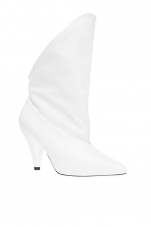 Asymmetrical heeled boots od Givenchy