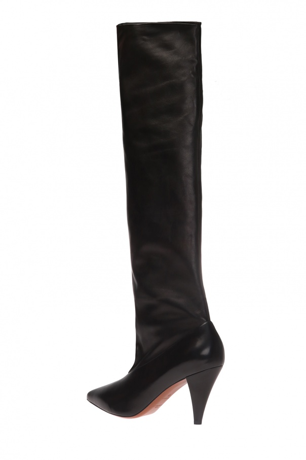 Heeled over-the-knee boots od Givenchy
