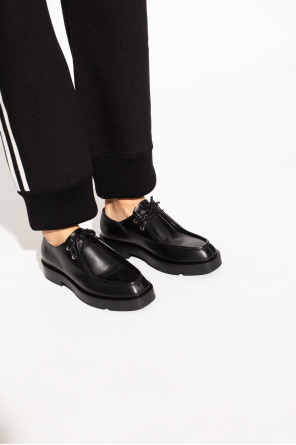 Leather shoes with logo od Givenchy