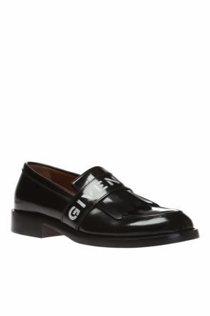 Leather 'loafer' shoes od Givenchy