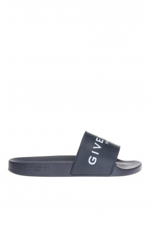 Logo-embossed sliders od Givenchy