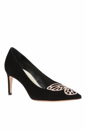'bibi butterfly' velvet stiletto pumps od Sophia Webster