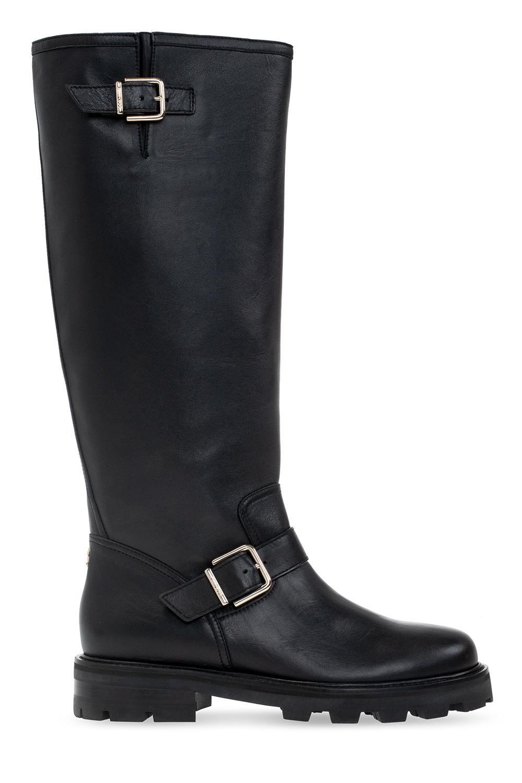 Jimmy Choo 'Biker II' heeled boots
