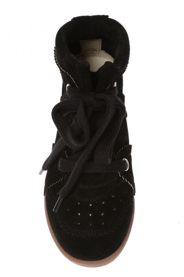 'bobby' suede sneakers od Isabel Marant