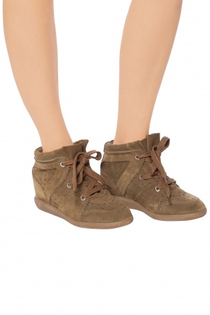 'bobby' wedge sneakers od Isabel Marant