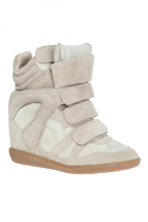 Wedge 'beckett' sneakers od Isabel Marant Etoile