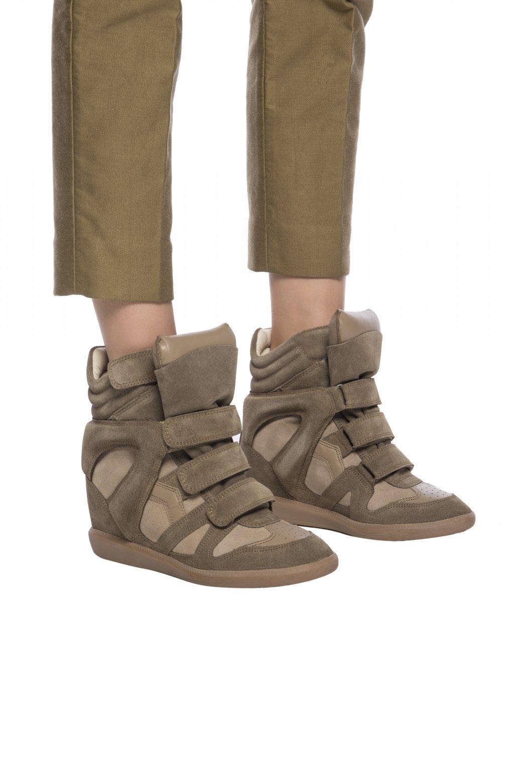 Wedge Bekett Sneakers Isabel Marant Etoile Vitkac Us