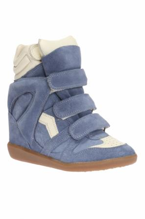 'bekett' wedge sneakers od Isabel Marant