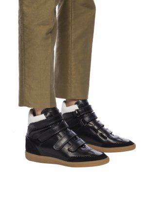 'bilsy' high ankle sport shoes od Isabel Marant