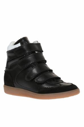 High-top 'bilsy' sneakers od Isabel Marant