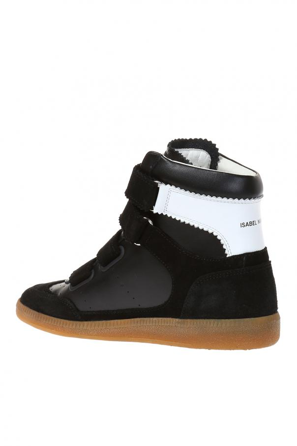 Bilsy high top sneakers - Black Isabel Marant 67foLg