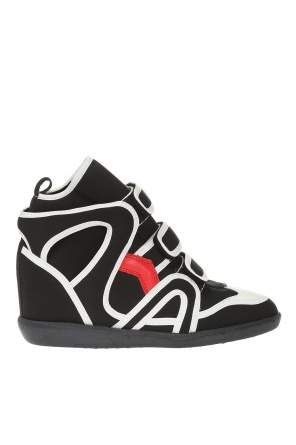 'buckee' wedge sneakers od Isabel Marant