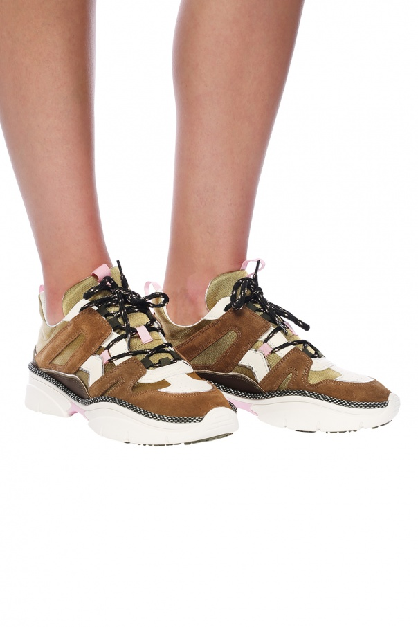 'kindsay' sneakers with logo od Isabel Marant