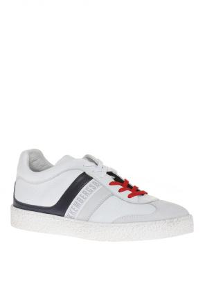 Leather sneakers od Dirk Bikkembergs