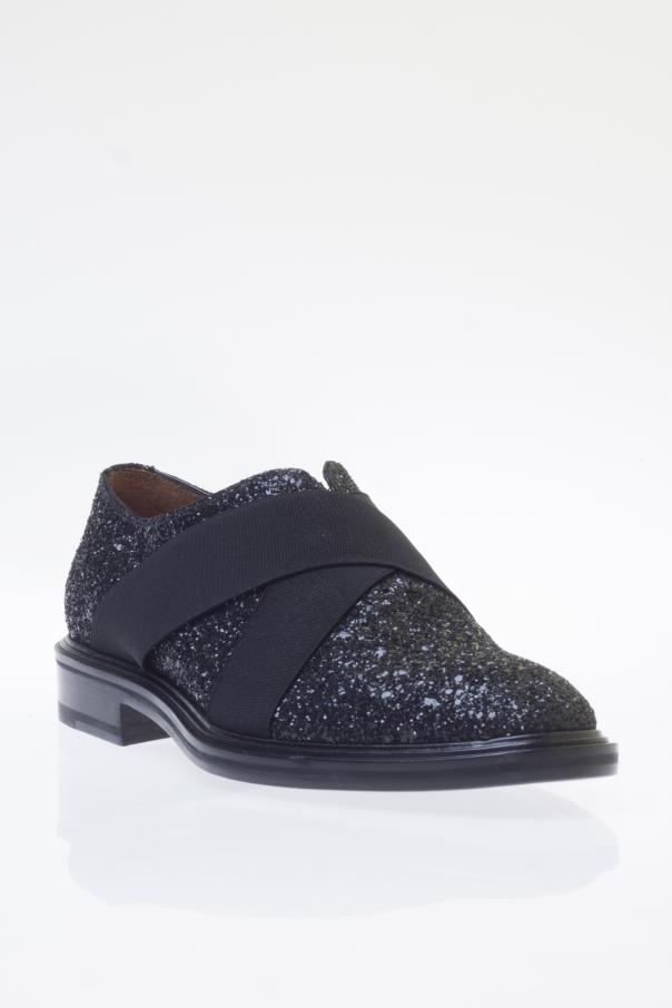 Buty typu 'loafers' z brokatem od Givenchy