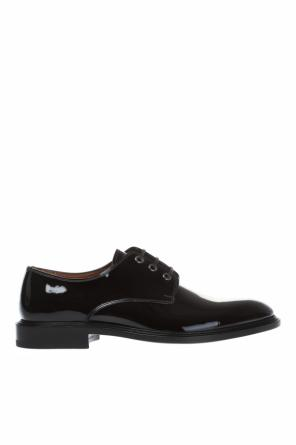 Lacquered leather derby shoes od Givenchy