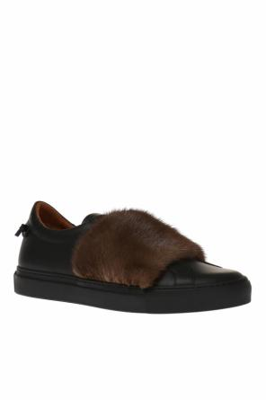 Mink fur leather sneakers od Givenchy