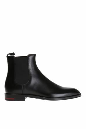 Logo-embossed chelsea boots od Givenchy