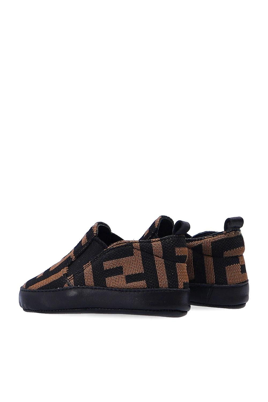 Fendi Kids logo鞋子