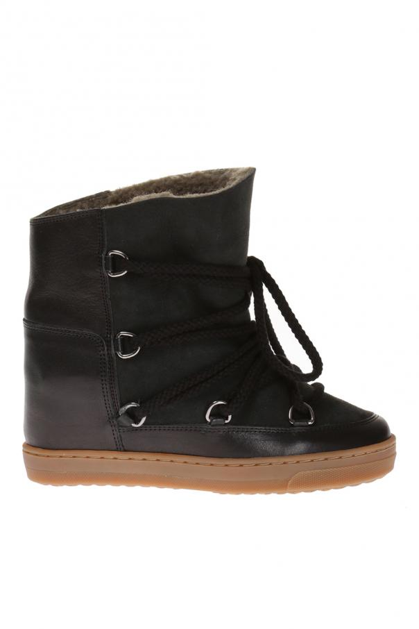 Isabel Marant 'Nowles' built-in wedge shoes